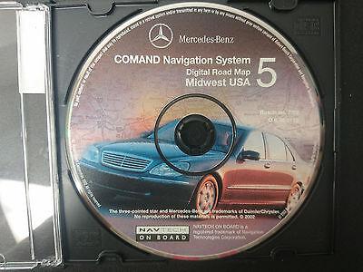 Mercedes Benz Comand Navigation System DVD #5 Part Number Q 6 46 0113 #CD109