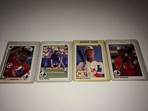 1990 Montreal expos rookie cards
