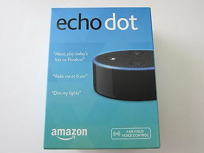Amazon Echo Dot Internet & Media Streamer 2nd Gen Black New