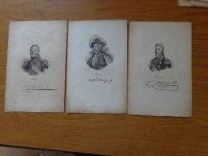 litografia-3-INCISIONI-GENERALI-NAPOLEONICI-CON-FIRME-STAMPATE-NUM-SUBALPINA