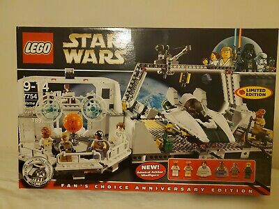 LEGO SPECIAL EDITION Stars Wars 7754 Mon Calamari New in Box Retired 6 mini figu