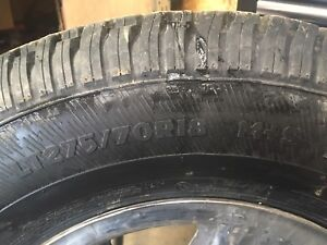 Dodge Ram 2500 winter tires and rims