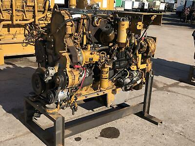 C15 Cat Engine To Fit 740b Haul Truck Running Takeout Of Machine