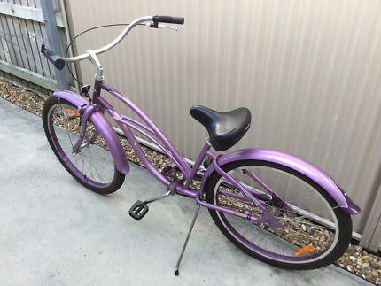 Electra beach cruiser bicycle
