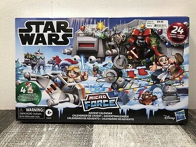Star Wars: The Rise of Skywalker Micro Force Advent Calendar NEW