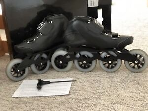 Excellent condition Inline Roller blades - speed skatess