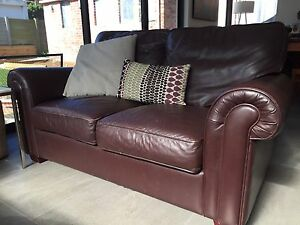 Leather sofas Mount Claremont Nedlands Area Preview