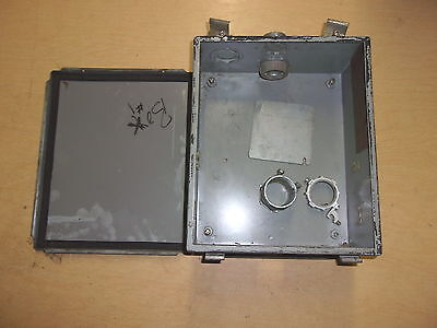 Used Hoffman Electrical Enclosure Box A-1210lp Free Shipping