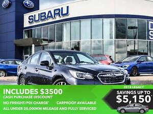 2018 Subaru Legacy Sedan 2.5i Touring at