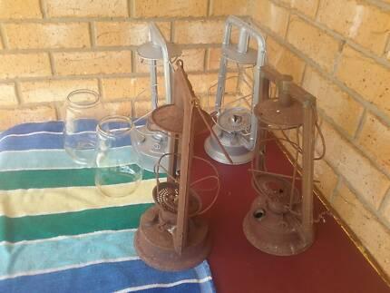 Hurricane (Kerosene) lamps