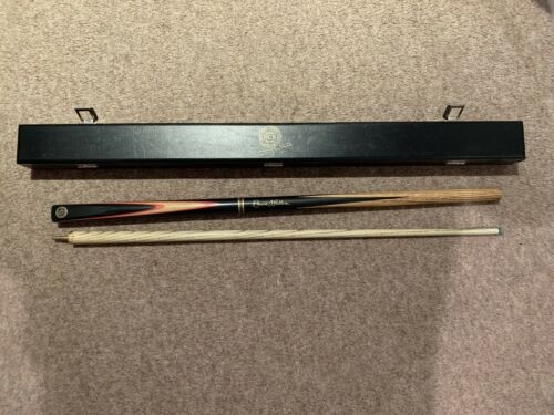Ronnie OSullivan 2 piece snooker cue and Jimmy White (BCE) case