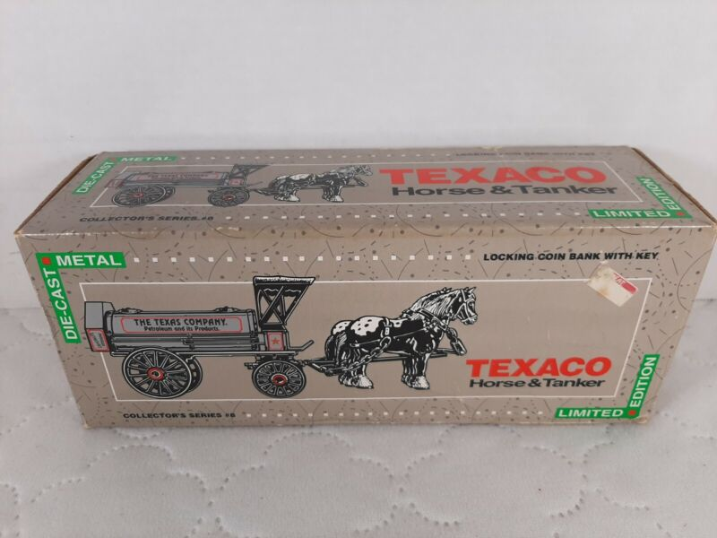 Diecast Texaco Horse and Tanker Bank Limited Edition Collectors series #8 New!