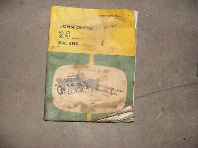 John Deere 24t Hay Baler Manual