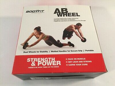 Body Training Abdominal Sport Fitness Dual AB Wheel Roller Exercise Equipment for sale  Shipping to Nigeria