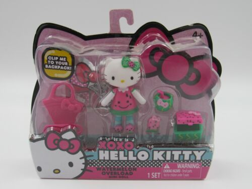 Hello Kitty XOXO Watermelon Overload Mini Doll Blip Toys, New in Package
