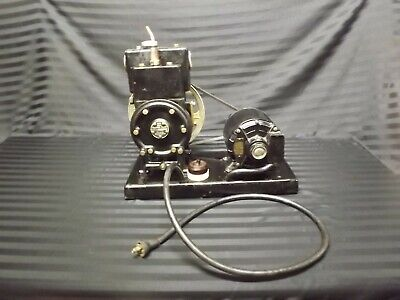 Vtg Welch Duo Seal Vacuum Pump 1405 Westinghouse 13hp Motor 1725rpm Tested