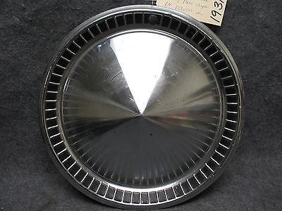 1957 Plymouth Hub Cap Wheel Cover Belvedere Savoy Plaza 1730797 Chrysler 19312