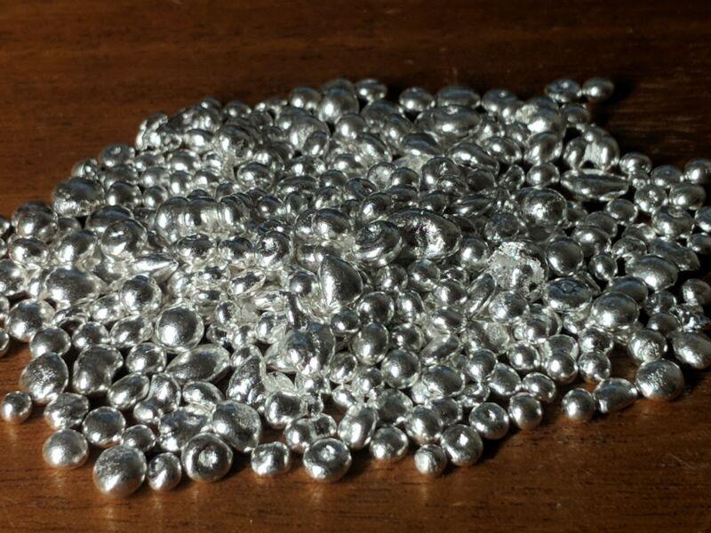 SILVER grain shot granules 9999 fine great for casting jewelry making bullion