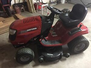 "Like New! Craftsman 20hp mower with a 42"" deck."