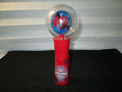 """Spiderman Light Up Jumbo Globe Spinner Kids Toy, 9"""", See Details"""