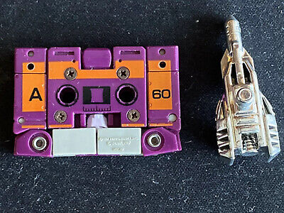 VINTAGE Transformers G1 Original BeastBox 1988 Cassette With One Weapon Gun