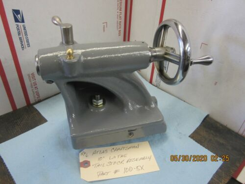 "Atlas Craftsman 10"" Tailstock Assembly # 10D-5X"