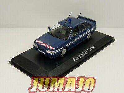 NOR7A VOITURE 1/43 NOREV : RENAULT 21 Turbo Gendarmerie 1989