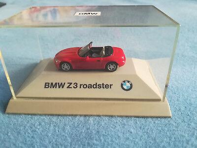 Org. Modell - BMW Z3 Roadster E36/7 - rot - Maßstab 1:87   gebraucht kaufen  Deutschland
