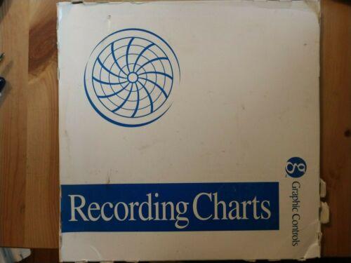 Graphic Controls Circular Recording Charts PN-00388637 100 Per Box