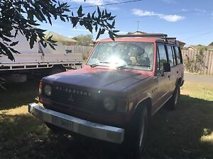 1987 Mitsubishi Pajero turbo diesel Longford Northern Midlands Preview