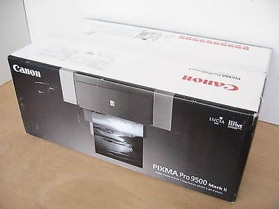 "Brand New Canon PIXMA Pro 9500 Mark II 13X19"" Wide Format Photo Inkjet Printer"