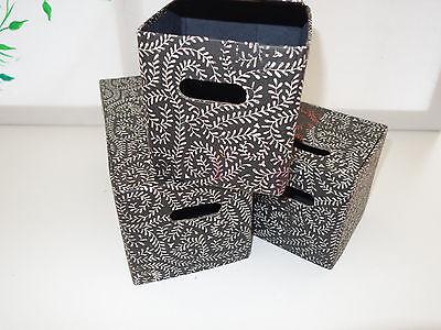 6 Sammelboxen Aufbewahrungsbox Pappe zusammenklappbar Ikea Hamneda OVP