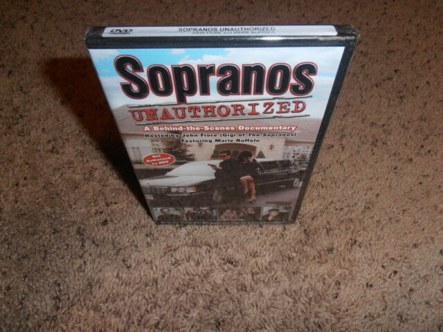 SOPRANOS UNAUTHORIZED dvd BRAND NEW FACTORY SEALED movie
