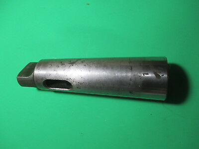 Mt4 To Mt5 Morse Taper Adapter Drill Sleeve Metal Lathe Mill Machinist