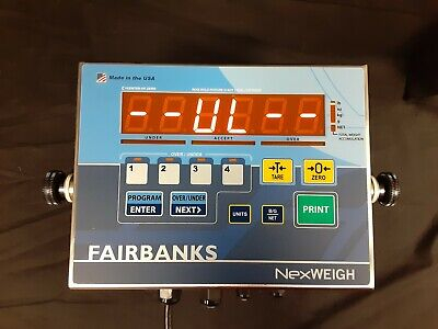 Fairbanks Nexweigh Fb5050 Food Grade Scale Tested And Working Free Shipping
