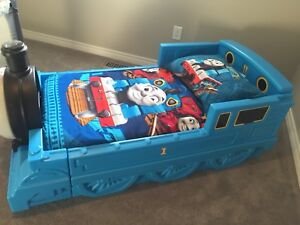 Thomas the Train Toddler Bed and Decor