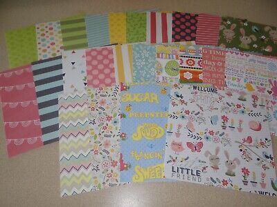 Easter Paper (EASTER SCRAPBOOK PAPER CARD MAKING SPRING CRAFTS ART)
