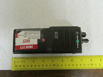 Motorola Mts2000 Flashport Handie Talkie Fm Radio From Small City As-is