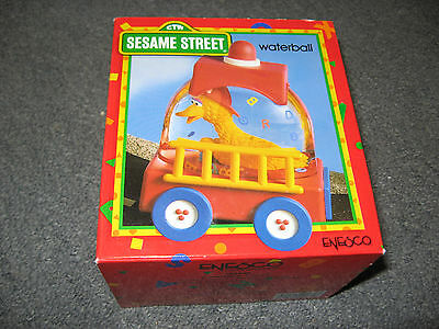 "ENESCO Collectible ""Big Bird to Rescue"" SESAME STREET Waterball-in original box"