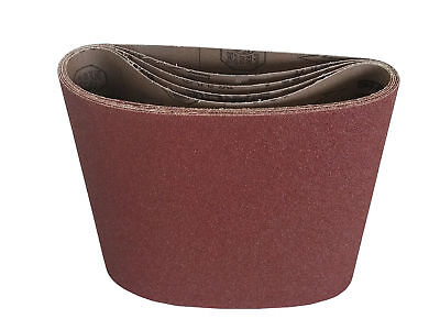 "8"" x 19"" Floor Sanding Belts Aluminum Oxide Cloth Belts (10 Pack, 80 Grit)"