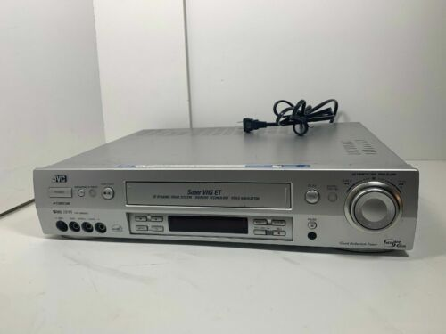 JVC HR-S9900U SUPER VHS S-VHS ET PROFESSIONAL VCR WORK FOR VIDEO TRANSFER TO DVD