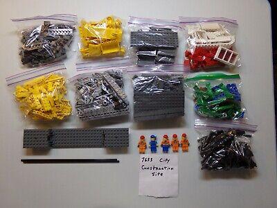 Lego 7633 City Construction Site - 100% Complete - Lot -