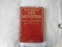 THE COMPLETE YES MINISTER The Diaries of a Cabinet Minister by Ja Camden Camden Area Preview