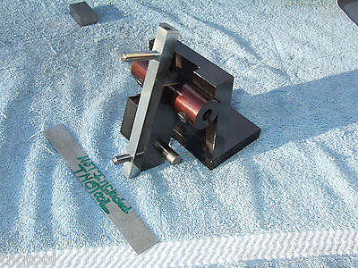 Sliding Diamond 3 Sine Wheel Dresser Blackened Toolmaker Machinist Blackened
