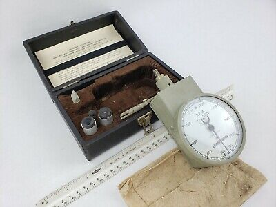 Vintage Jones Portable Tachometer Model 1600-4 Rpm Gauge Antique Dial Lathe Mill