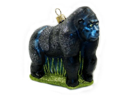 Gorilla Silverback African Zoo Animal Polish Christmas Ornament Decoration 10237