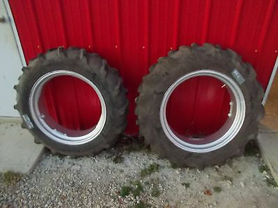 Allis Chalmers B C Tractor 11.2 X 24 98 Tread Frestone Tire Tires Rims Rim