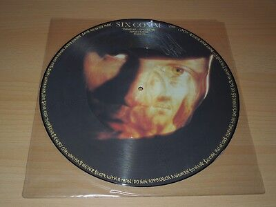 "Six Comm, Paradise, Calling, 12"", Maxi, Picture Disc, Limited Edition, Signiert"