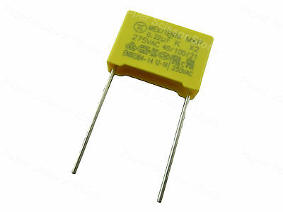 10pcs 0.22 0.22u 0.22uf 275v Mkp Ac Line Rfi Filter Safety Capacitor X2 Standard