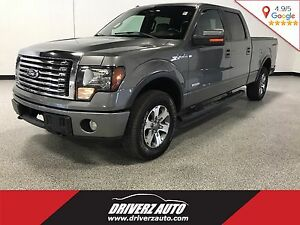2011 Ford F-150 XLT CLEAN CARPROOF, ECOBOOST, LEATHER